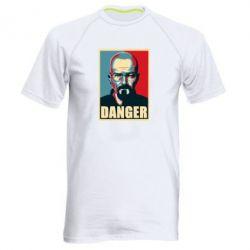 Мужская спортивная футболка Heisenberg Danger - FatLine