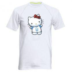 Мужская спортивная футболка Hello Kitty UA - FatLine