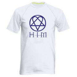 Мужская спортивная футболка HIM! - FatLine