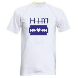 Мужская спортивная футболка HIM - FatLine