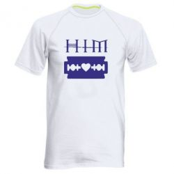 Чоловіча спортивна футболка HIM - FatLine