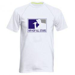Мужская спортивная футболка Hip-hop all stars - FatLine
