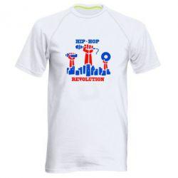 Мужская спортивная футболка Hip-hop revolution