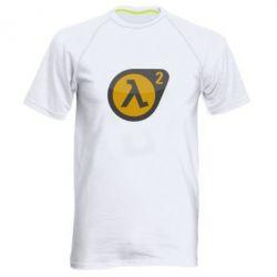 Мужская спортивная футболка HL 2 logo - FatLine