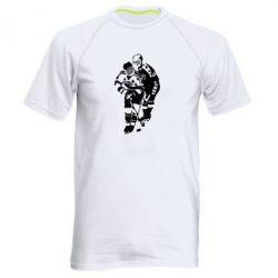 Мужская спортивная футболка Хоккеисты - FatLine
