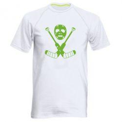 Мужская спортивная футболка Хоккейная маска - FatLine