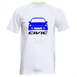 Мужская спортивная футболка Honda Civic - FatLine