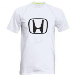 Мужская спортивная футболка Honda Logo - FatLine