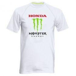 Мужская спортивная футболка Honda Monster Energy - FatLine
