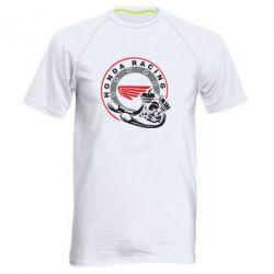 Мужская спортивная футболка Honda Racing - FatLine