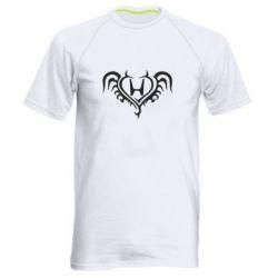 Мужская спортивная футболка Honda tattoo - FatLine