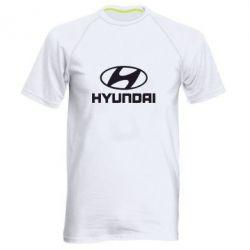 Мужская спортивная футболка Hyundai Small - FatLine