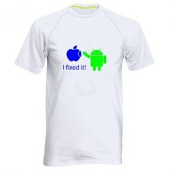 Мужская спортивная футболка I fixed it! Android - FatLine