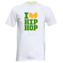 Мужская спортивная футболка I love Hip-hop Wu-Tang