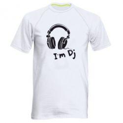 Мужская спортивная футболка I'm DJ - FatLine