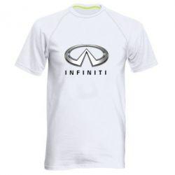 Мужская спортивная футболка Infinity Logo 3D - FatLine