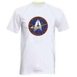 Мужская спортивная футболка Inited Federation of Planets - FatLine