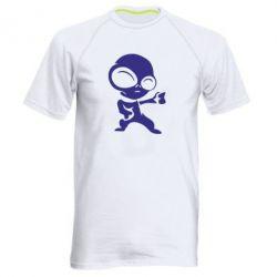 Мужская спортивная футболка Инопланетянин - FatLine