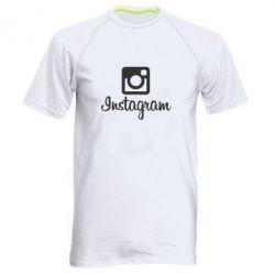 Чоловіча спортивна футболка Instagram