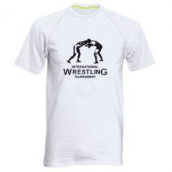 Мужская спортивная футболка International Wrestling Tournament - FatLine