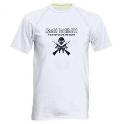 Мужская спортивная футболка Iron Maiden - FatLine