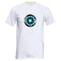 Мужская спортивная футболка Iron Man Device - FatLine
