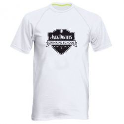 Мужская спортивная футболка Jack Daniel's Drinkin School - FatLine