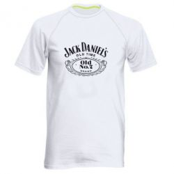 Мужская спортивная футболка Jack Daniel's Old Time - FatLine