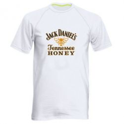 Мужская спортивная футболка Jack Daniel's Tennessee Honey - FatLine