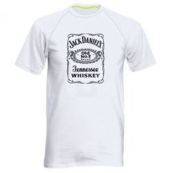 Мужская спортивная футболка Jack Daniel's Whiskey - FatLine