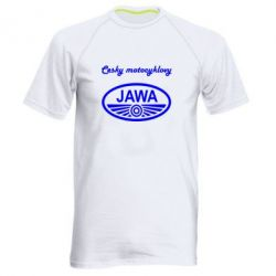 Мужская спортивная футболка Java Cesky Motocyclovy - FatLine