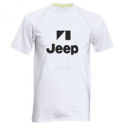Мужская спортивная футболка Jeep Logo - FatLine