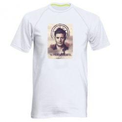 Мужская спортивная футболка Jensen Ackles - FatLine