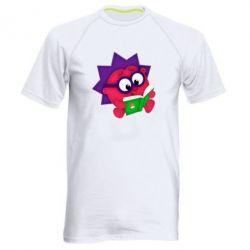 Мужская спортивная футболка Ёжик