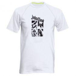 Мужская спортивная футболка Judas Priest - FatLine