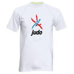 Мужская спортивная футболка Judo Logo - FatLine