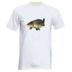 Мужская спортивная футболка Карасик