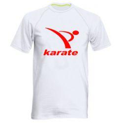 Мужская спортивная футболка Karate - FatLine