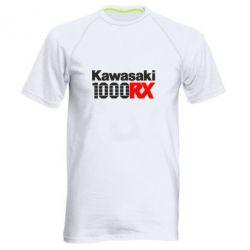 Мужская спортивная футболка Kawasaki 1000RX - FatLine