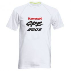 Мужская спортивная футболка Kawasaki GPZ500S - FatLine