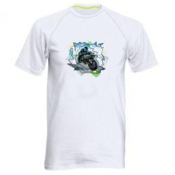 Мужская спортивная футболка Kawasaki Ninja Art