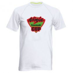Мужская спортивная футболка Kawasaki Ninja Cup - FatLine
