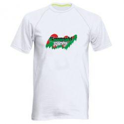 Мужская спортивная футболка Kawasaki Racing - FatLine