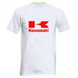 Мужская спортивная футболка Kawasaki - FatLine