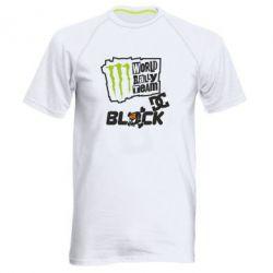 Мужская спортивная футболка Ken Block Monster Energy - FatLine