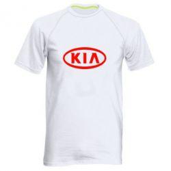 Мужская спортивная футболка KIA Small - FatLine