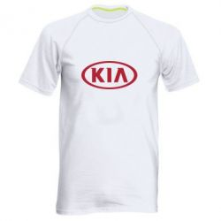 Мужская спортивная футболка KIA - FatLine