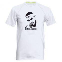 Мужская спортивная футболка King James - FatLine