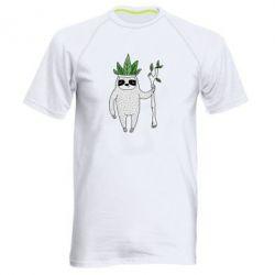 Мужская спортивная футболка King sloths