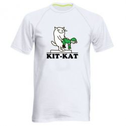 Мужская спортивная футболка Kit-Kat - FatLine